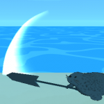 【Unity】アセット「X-WeaponTrail」で武器を振った時の軌跡を表示する