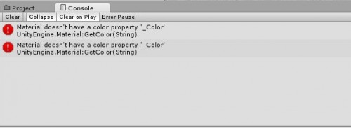 【Unity】iTween実行時のエラー「Material doesn't have a color property '_Color'」について