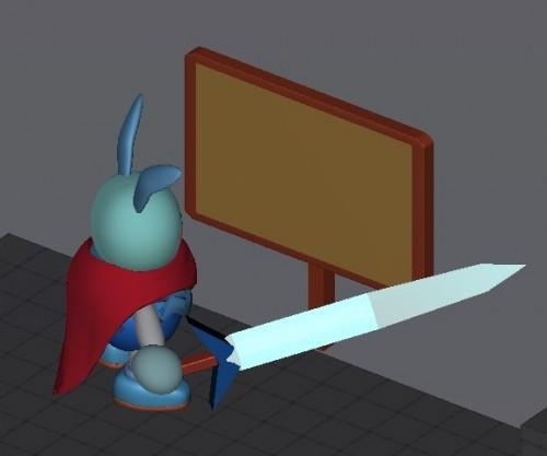 【Unity】テキストをUGUIで表示する看板の作成