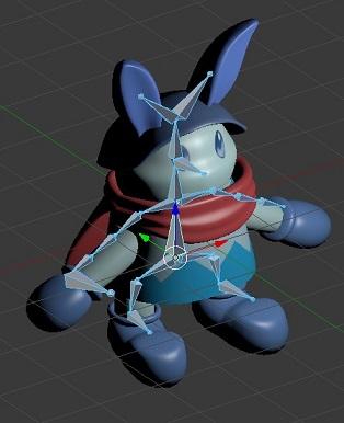 【Blender】アニメーションデータを別のBlenderファイルにコピーする方法