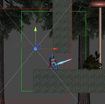 【Unity】横スクロールアクションのカメラワーク制御について