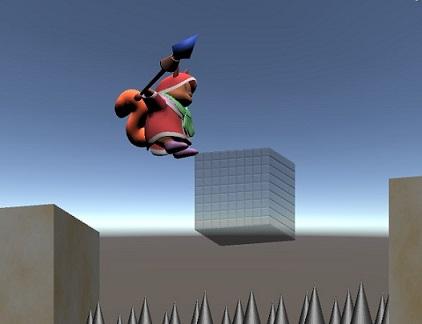 【Unity】アクションゲーム的な「消える足場」の作成