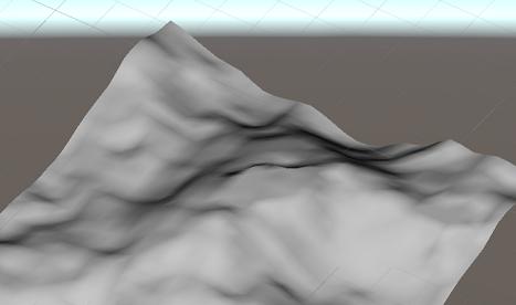 Unity】Terrainで背景っぽい地形を作ってみる | ゴマちゃん