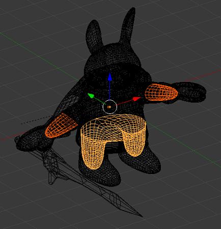 【Blender】表面から見えない部分のメッシュを削除したお話