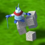 【開発日記】「乗ると崩れるブロック」の作成