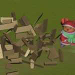 【Unity】破壊時にバラバラになる木箱の作成