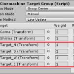 【Unity】ChinemachineのTargetGroupが動的に変えられないので工夫したお話