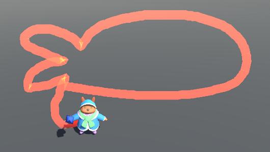 【Unity】マウスドラッグでオブジェクトからの相対的な線を描画する方法