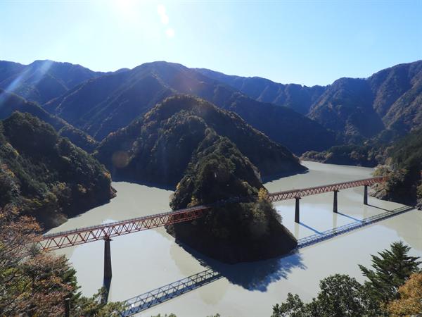 2018年11月 静岡県「奥大井湖上駅」に行ってきました!