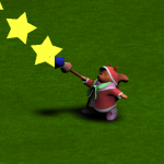【Unity】BlendTreeを使って移動入力方向を向いて弾を発射する方法